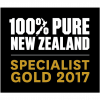 100 Pure New Zealand Specialist Gold 2017